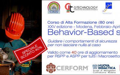 XXV edizione corso di Alta Formazione in B-BS