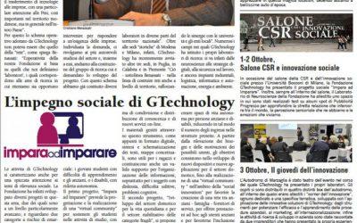 Il 2013 della Fondazione GTechnology