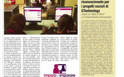 Importante riconoscimento per i progetti sociali della Fondazione GTechnology