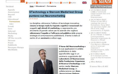 GTechnology e Starcom MediaVest Group puntano sul Neuromarketing