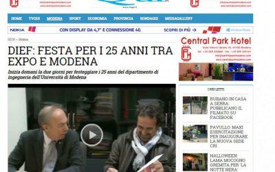 DIEF: FESTA PER I 25 ANNI TRA EXPO E MODENA CON GTECHNOLOGY