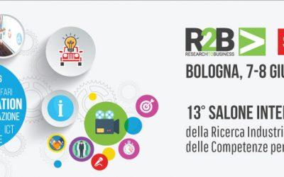 Gtechnolgogy a R2B 2018 – Smau Bologna – 7 e 8 giugno